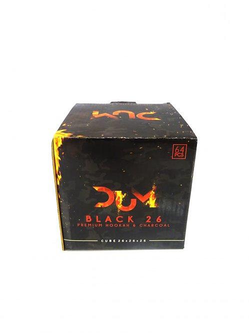 Charbon naturel DUM Black 26