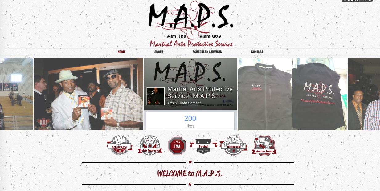 M.A.P.S. Website
