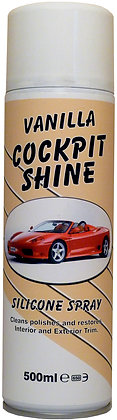 Vanilla Cockpit Shine / Silicone Spray 500ml