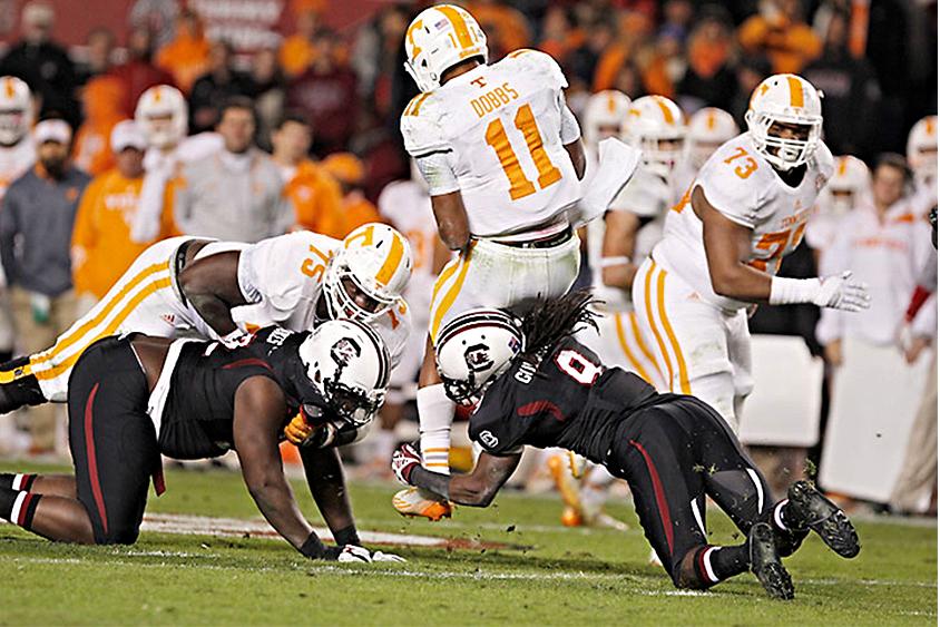 South Carolina vs. Tennessee