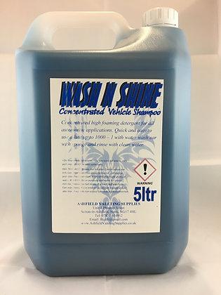 Wash N Shine - Car Shampoo 5L