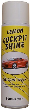 Lemon Cockpit Shine / Silicone Spray 500ml