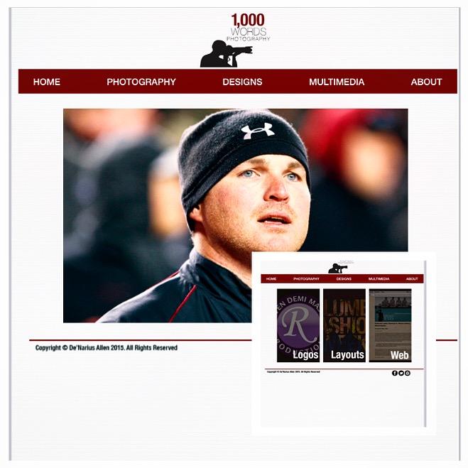 1,000 Words Photography Website