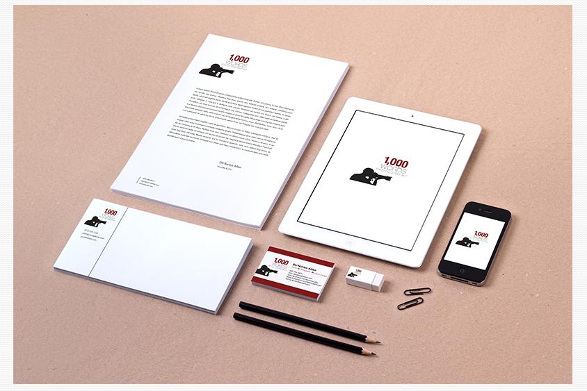 1,000 Words Photography Branding