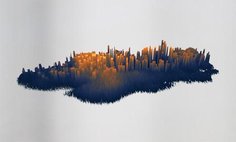 Spectrogram landscape