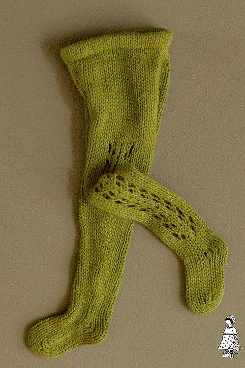 Collants verts pour poupée type Götz et Zwergnase de 50 cm