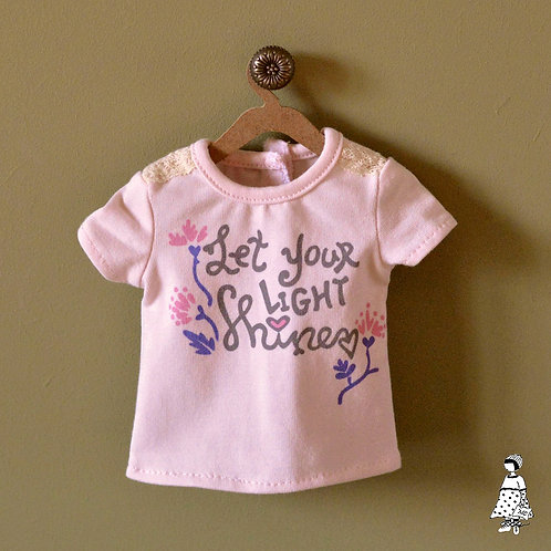 T-shirt rose déboxé Fashion Friends Sara