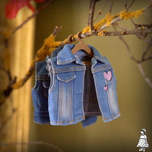 vestes en jean sans manche Fashion Friends déboxés