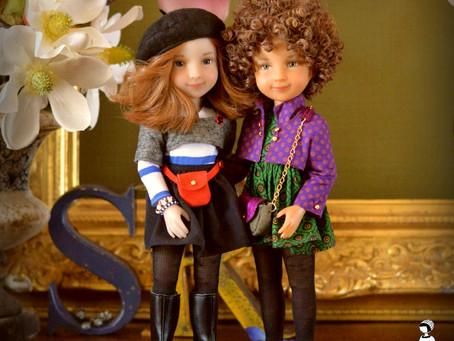 """""""From Paris"""" La rentrée des poupées..."""