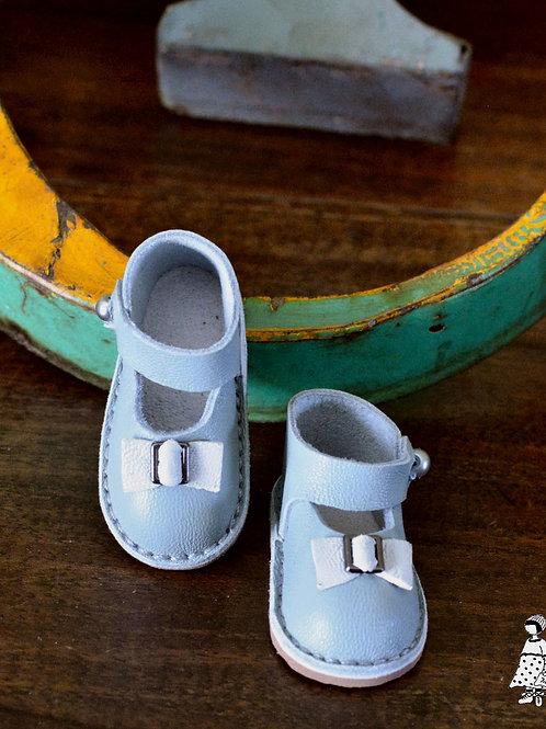 Chaussures collèges grises Little Darling Minouche
