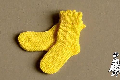 Chaussettes jaunes citrons Paola Reina et Fashion Friends