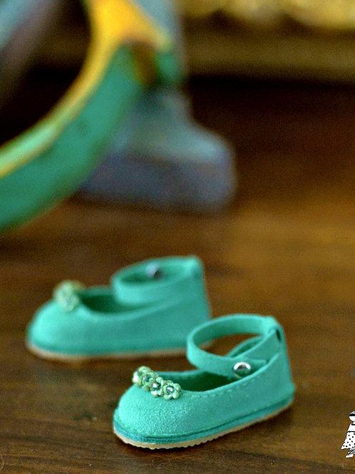 Elfie Menthe Chaussures à brides