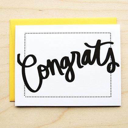 Congrats - 6 Cards