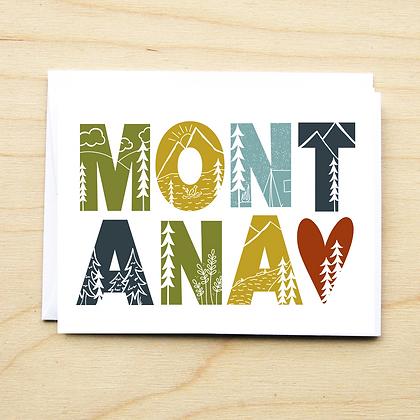 Montana Sketch - 6 Cards