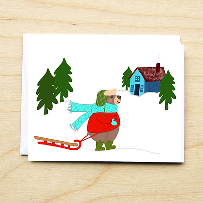 Bear Winter - 6 Cards