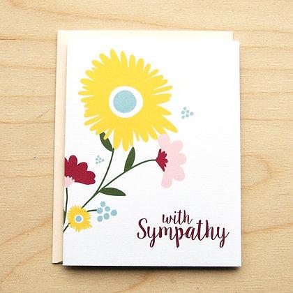Floral Sympathy - 6 Cards