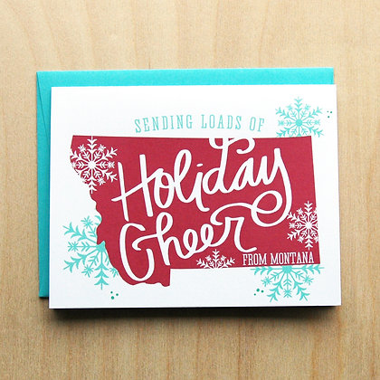 Holiday Cheer Card - 6 cards