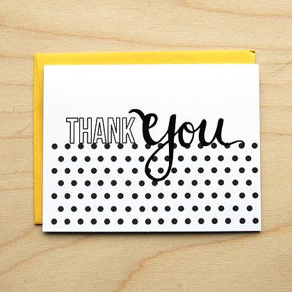Polka Dot Thank You