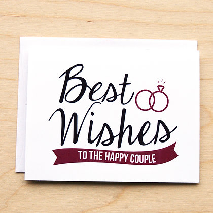 Happy Couple - 6 Cards