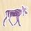 Thumbnail: Moose Sticker - 10 Sticker