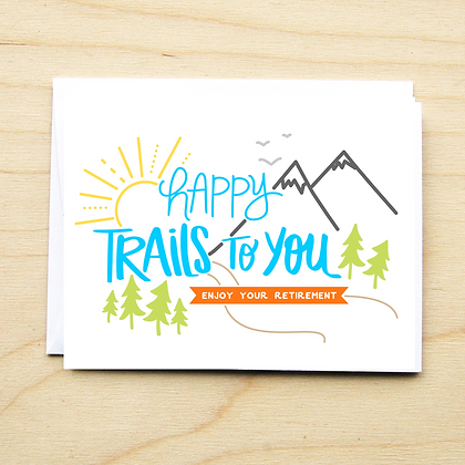 Happy Trails - 6 Cards