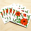 Thumbnail: Red Floral - 2 Card Sets