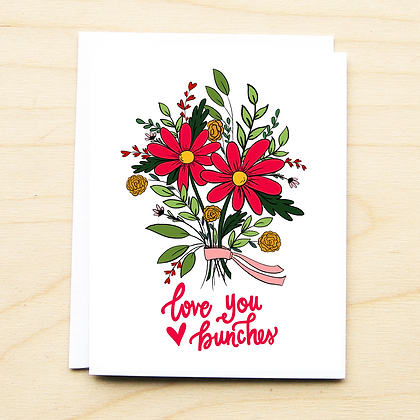 Love You Bunches - 6 Cards