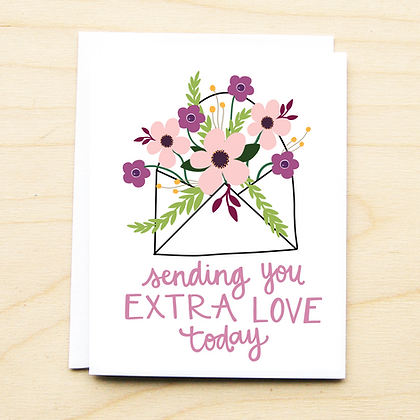 Extra Love - 6 Cards