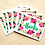 Thumbnail: Pink Flowers Thank You - 6 Cards