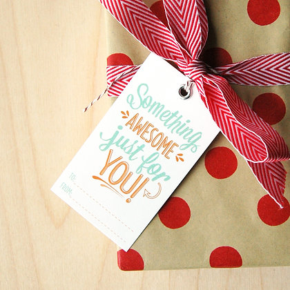 Something Awesome Gift Tags