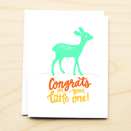 Deer Baby - 6 Cards