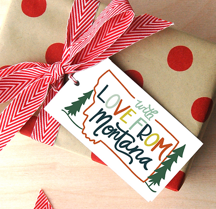 With Love From MT Gift Tags
