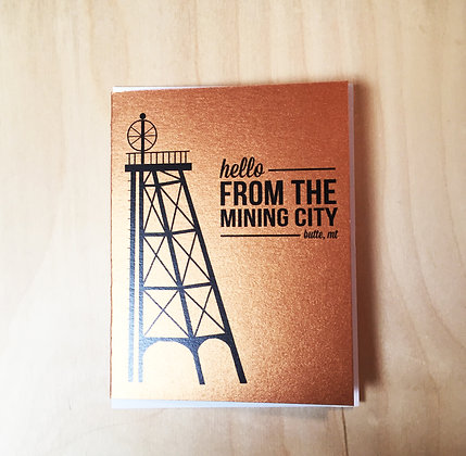 Mining City Cards - Butte, MT