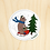 Thumbnail: Bear Sled - 10 Stickers