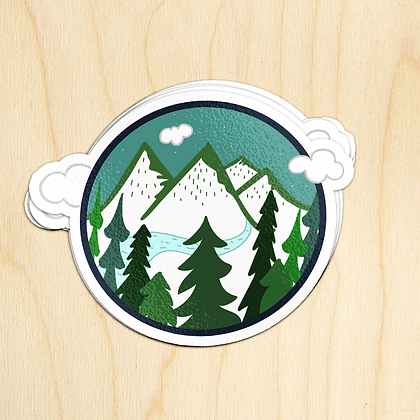 Great Outdoors Sticker