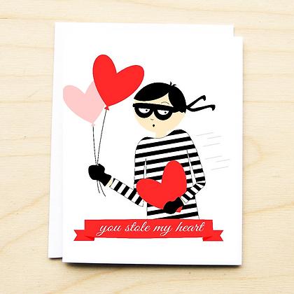 Heart Bandit Valentine