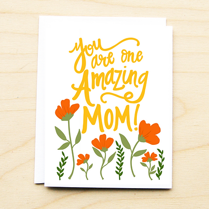 One Amazing Mom - 6 Cards