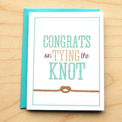 Tying the Knot - 6 Cards