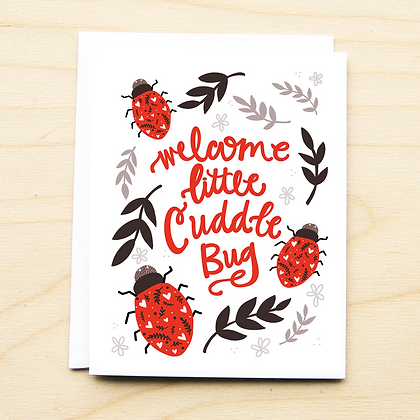 Cuddle Bug - 6 Cards