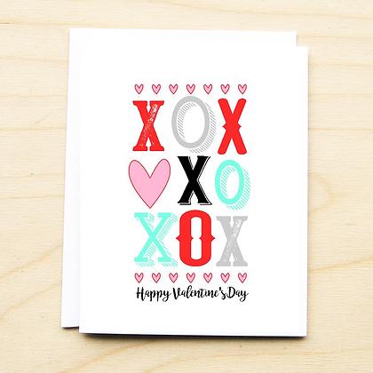 XOXO Valentine - 6 Cards
