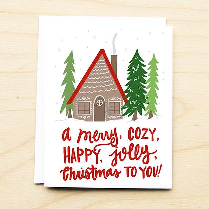 Cozy Cabin- 6 Cards
