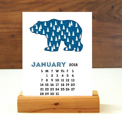 2018 Wildlife Desk Calendar