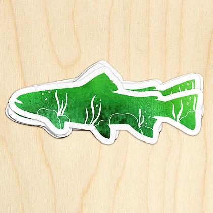 Fish Sticker - 10 Sticker