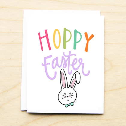 Hoppy Easter Card