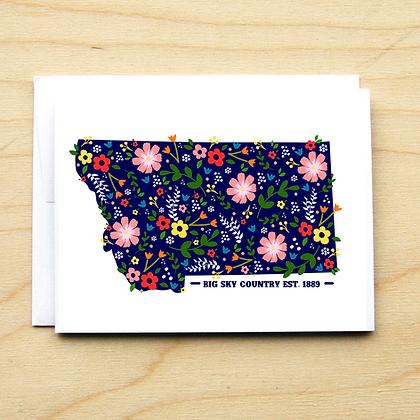 Floral Montana - 6 Cards