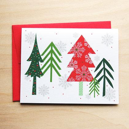 Tree Holiday Card