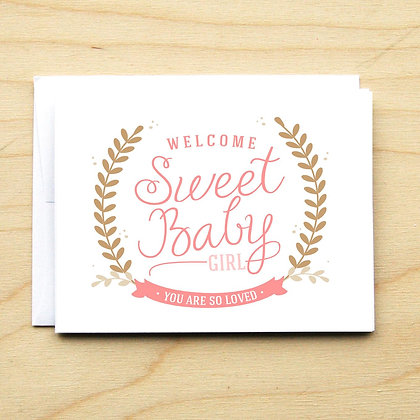 Sweet Baby Girl - 6 Cards