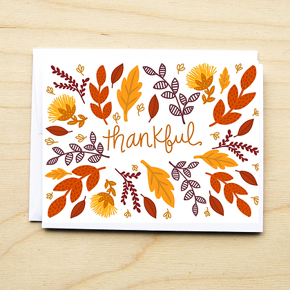 Thankful Foliage - 6 Cards