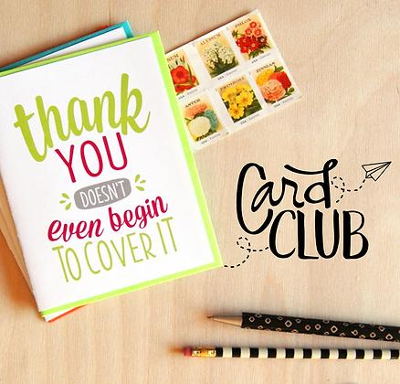 Card Club Subscription