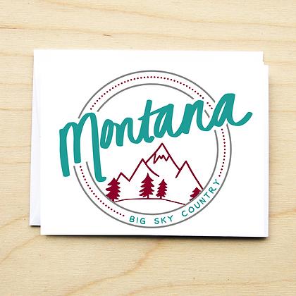 Round Montana - 6 Cards